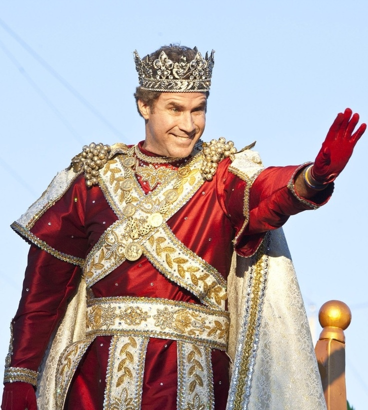 Will Farrell is King of Mardi Gras