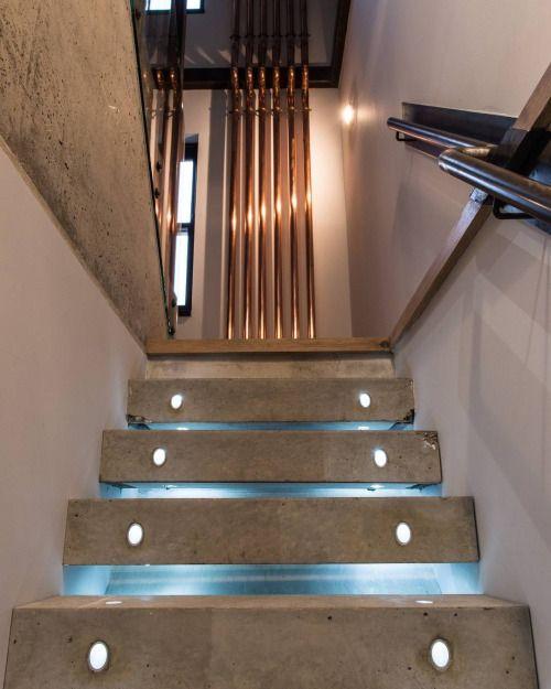 Bespoke Concrete Staircase at Portobello Road // Shot by...