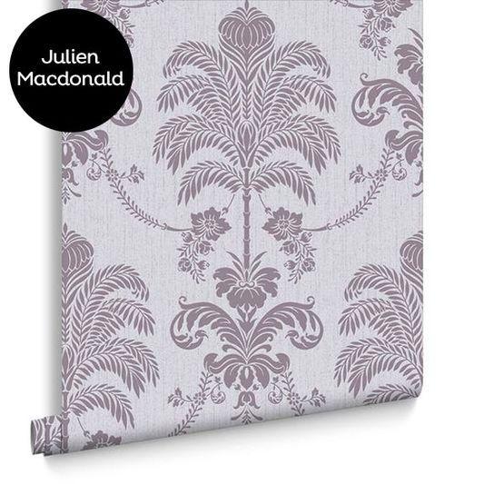 La Palma Lilac Wallpaper