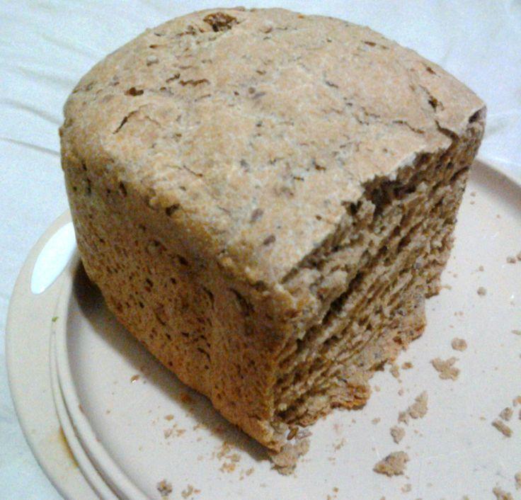 Pão 100% Integral com Aveia e Grãos (Vegan, Diet e Sem Lactose) - Máquina de Pão