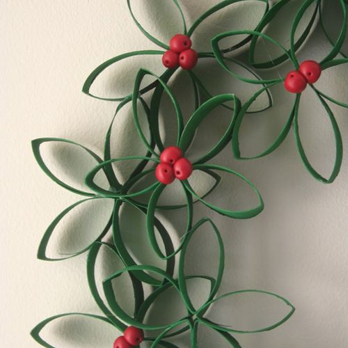 Five Fun Crafts the Kids can Help with over Christmas Break using toilet paper rolls, macaroni and other inexpensive items.