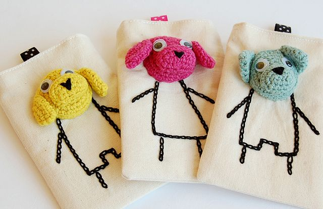 Crochet Phone Cases Inspiration ❥ 4U // hf