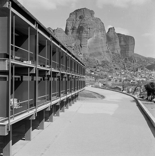 1960 Xenia Motel, Kalambaka   Aris Konstantinidis Source: Aris Konstantinidis Archive - Courtesy of Dimitri Konstantinidis