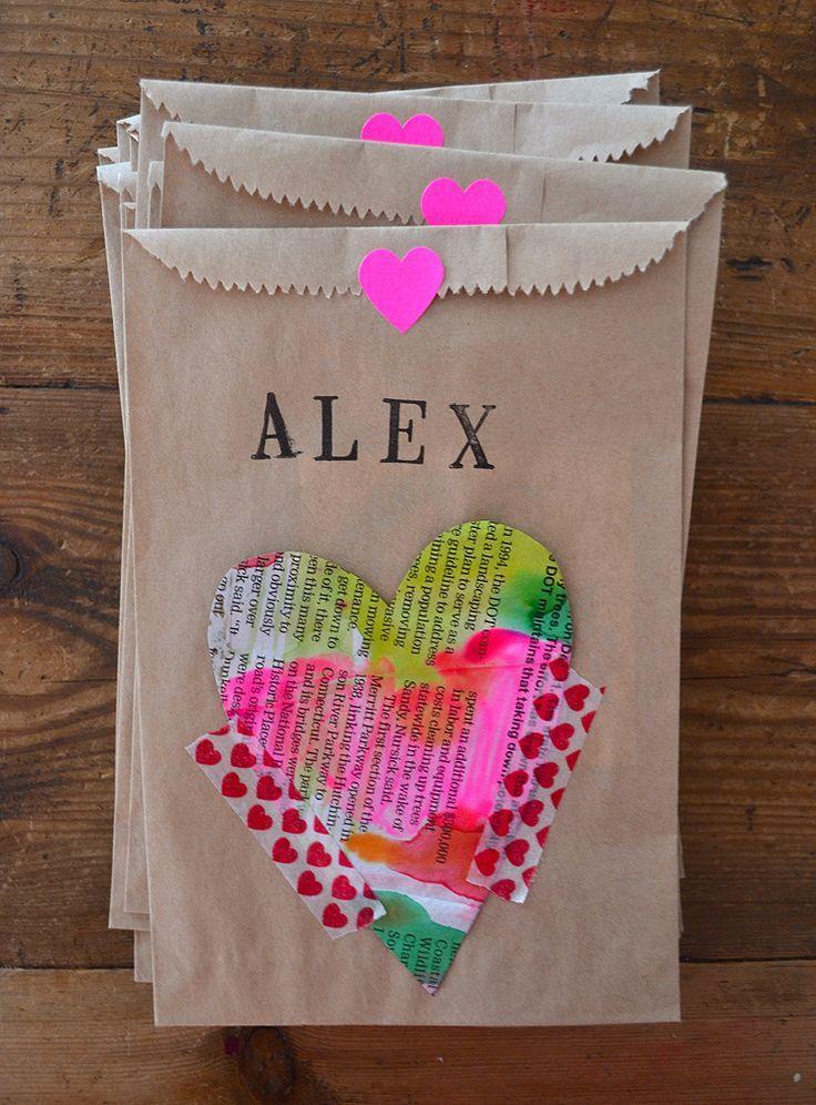 newspaper hearts