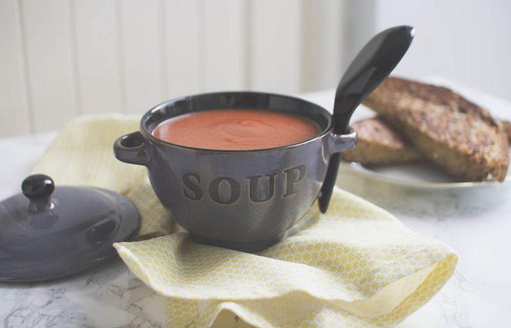 Heinz-style Vegan Cream of Tomato Soup!