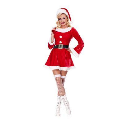 - Noel Baba Kadın Kostüm
