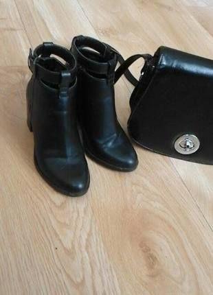 Kup mój przedmiot na #vintedpl http://www.vinted.pl/damskie-obuwie/botki/10550408-czarne-botki-stradivarius-rozmiar-36
