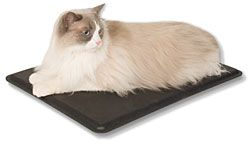 """Deluxe Pads include Built-in Adjustable Digital Temperature Control right on the pad You control the temperature with the Deluxe Pads which adjust from 80-100 degrees, warming under the pet Constructed of rugged ABS waterproof (hard) plastic Two Sizes: 12.5"""" x 18.5"""" and 16.5"""" x 22.5"""" Cord Length - 5' 6"""" steel wrapped chew resistant cord"""