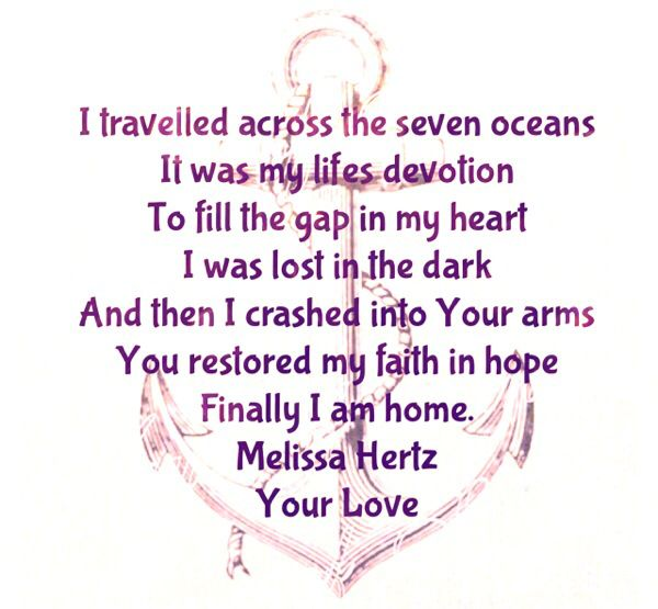 Song Lyrics for Your Love by Melissa Hertz