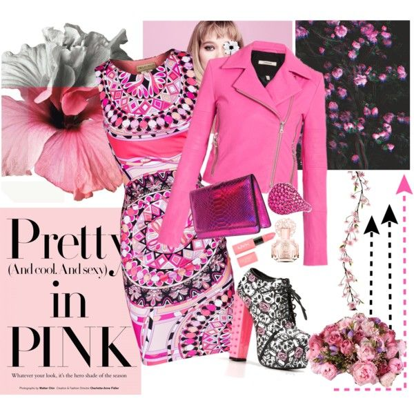 """""""Pretty Pink Night Club"""" by niallpizzalina on Polyvore"""