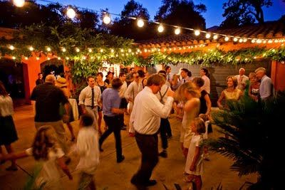 Lighting to enhance your outdoor wedding