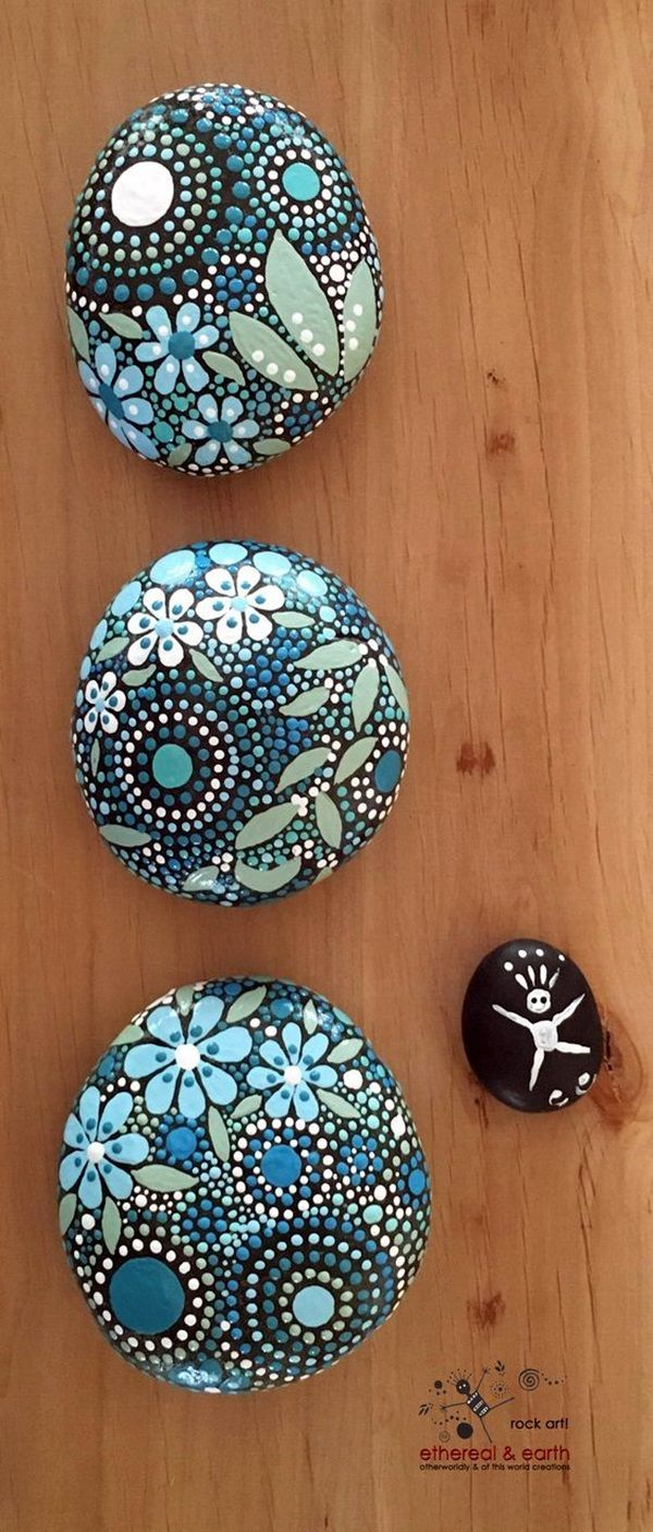 DIY Mandala Stone Patterns To Copy (17)