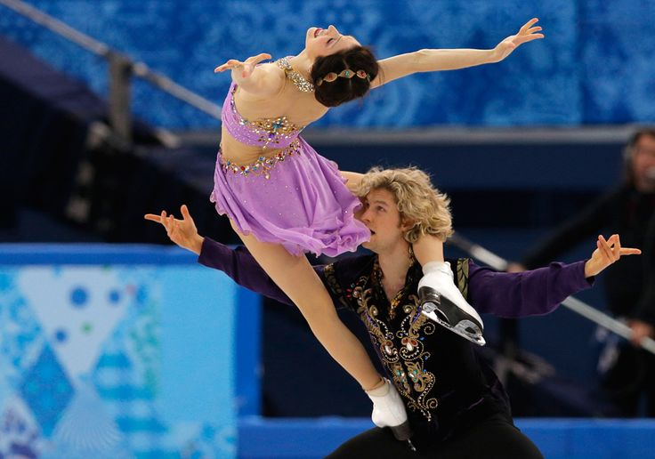 9 jaw-dropping photos that will make you believe in ice dancing - The Week - America: Meryl Davis and Charlie White. | (AP Photo/Vadim Ghirda)