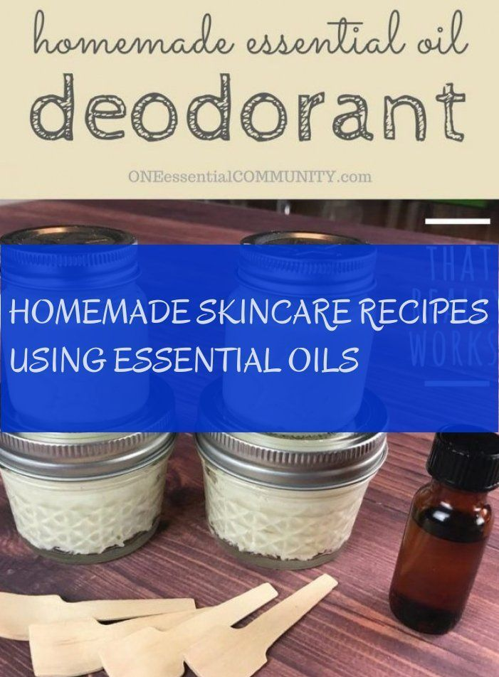 # Skincare recipes-homemade skincare recipes using essential oils # homemade ...  -  Hautpflege-Rezepte