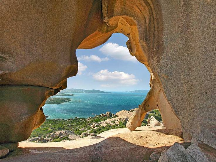 Sardegna - Palau - Veduta dalla Roccia dell'Orso Italy