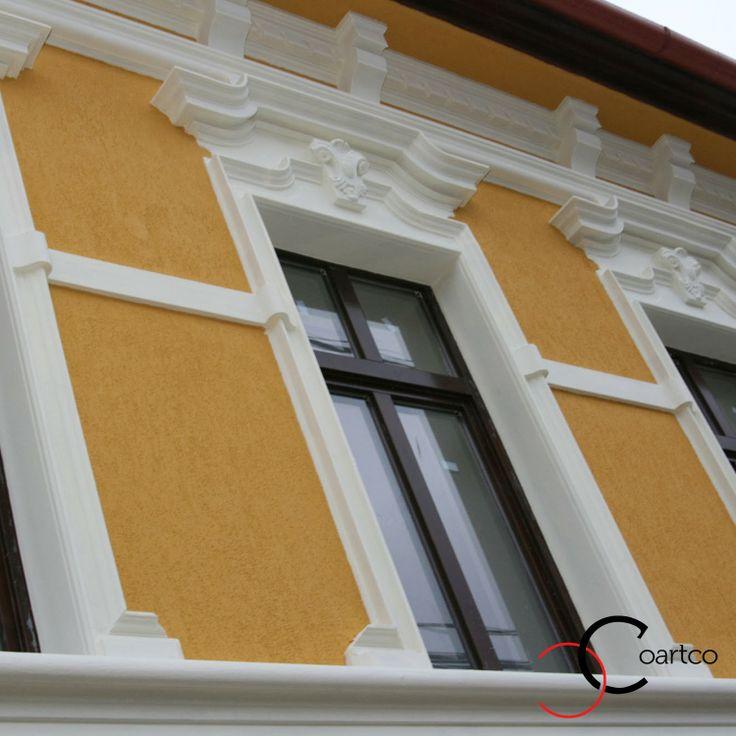 Ancadramente renovate, fatade case istorice