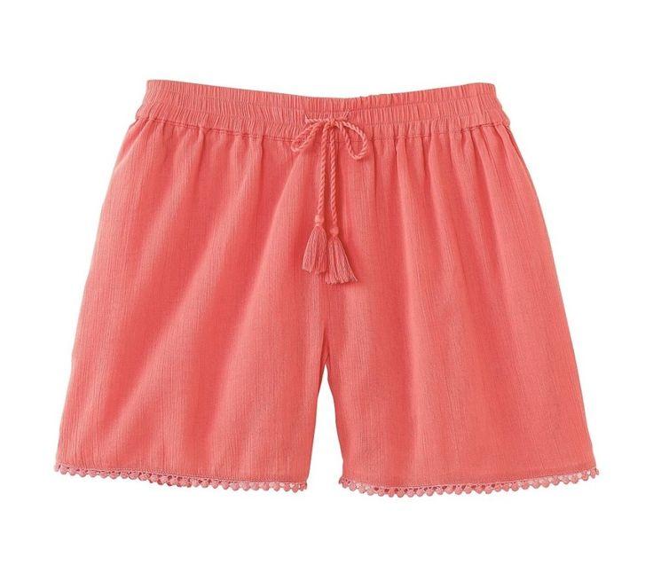 Krepové šortky se střapečky | blancheporte.cz #blancheporte #blancheporteCZ #blancheporte_cz #shorts #kratasy