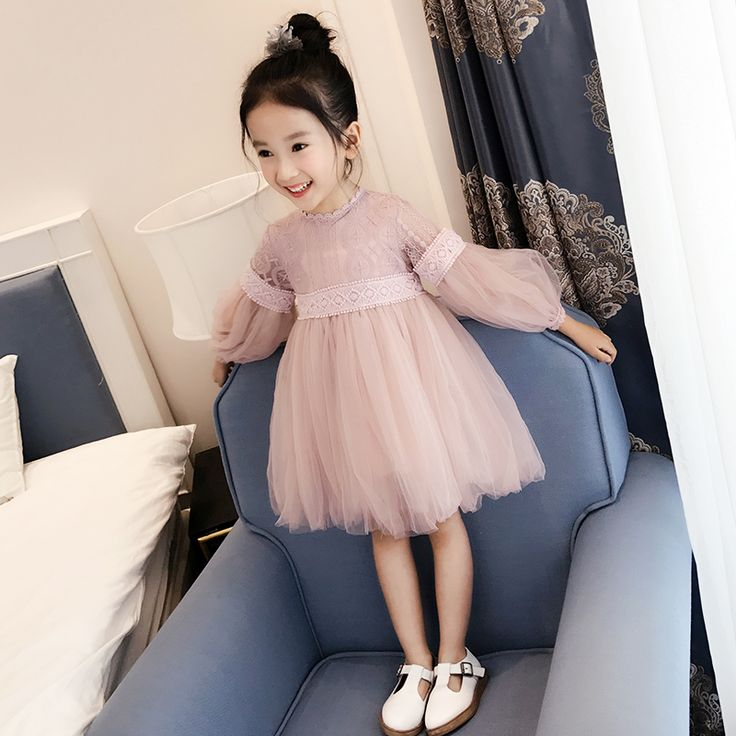 New 2017 Girls Lace Dress Children's Voile Dress Kids Ball Gown Dress Baby Cute Clothes Toddler Summer Beautiful Dress,2 14Y-in Dresses from Mother & Kids on Aliexpress.com | Alibaba Group