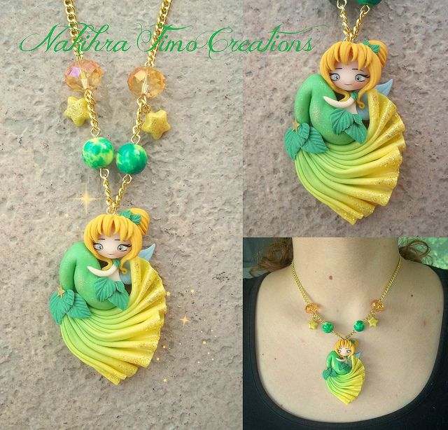 Mermaid Tinkerbell polymer clay | Flickr - Photo Sharing!