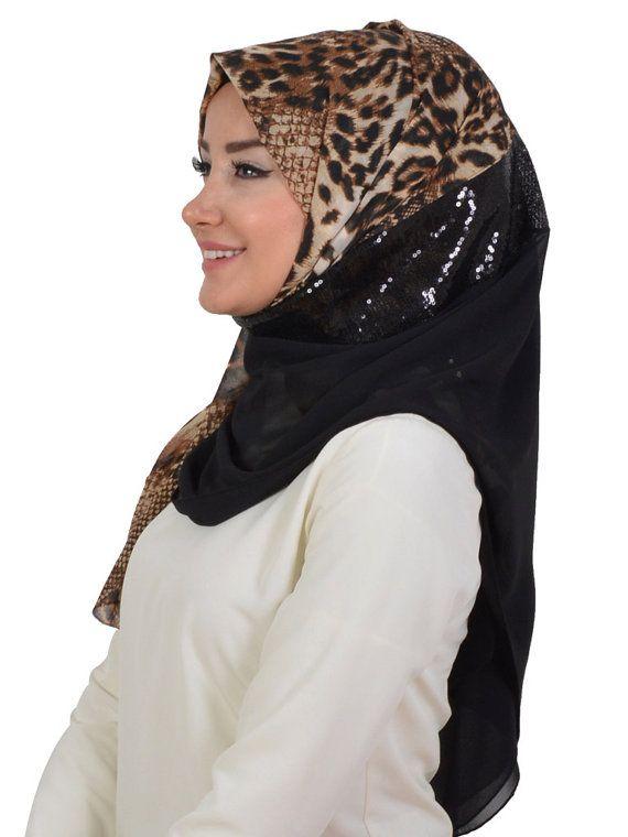 Shawl Code: AS-0025 Muslim Women Hijab Scarf by HAZIRTURBAN