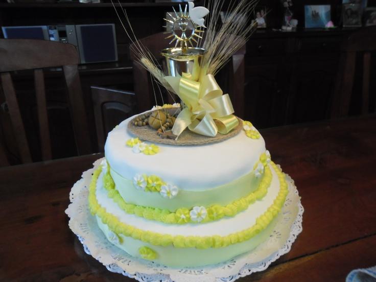 Torta de comunión