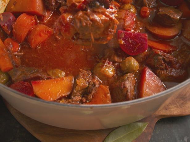 Get Nancy Fuller's Beer-Braised Beef Stew Recipe from Food Network