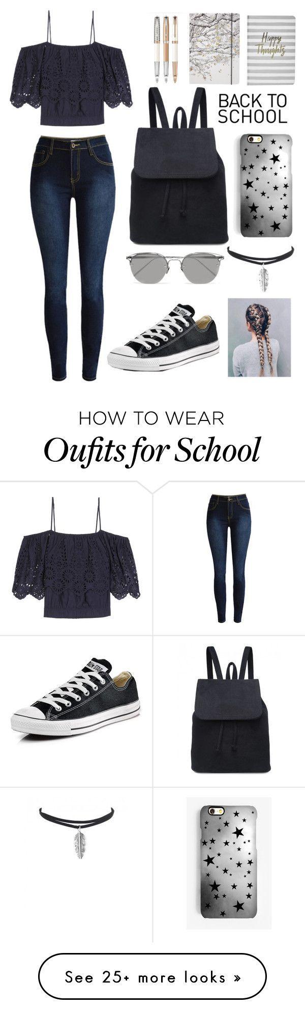 """""""Back To School Outfit"""" von kirsty-mckenzie44 auf Polyvore mit Ganni Boohoo #out…"""