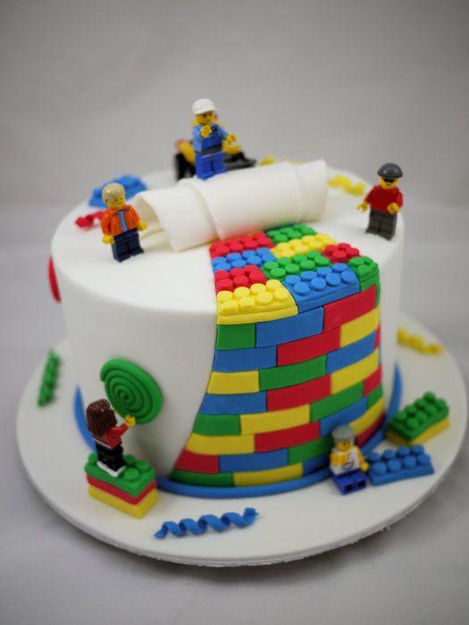 Lego Cake - by CakeIt @ CakesDecor.com - cake decorating website