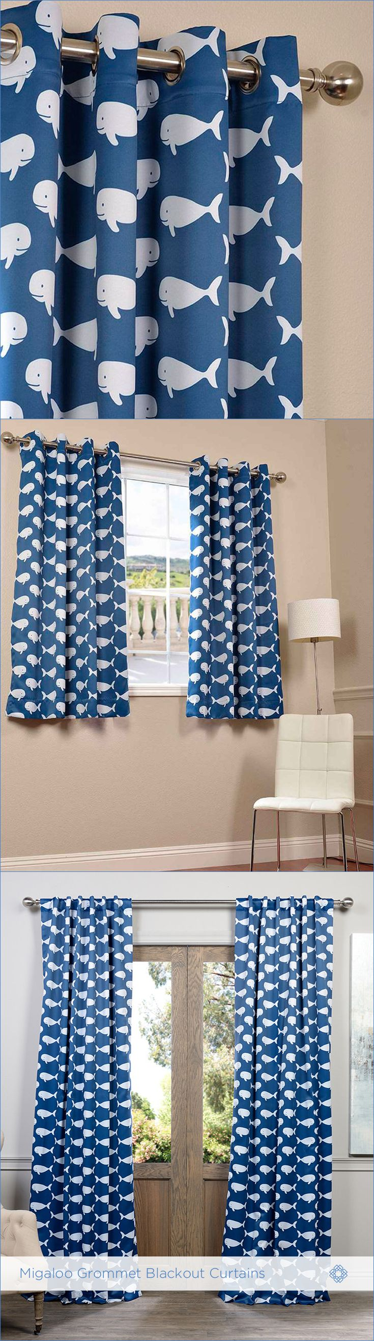 Cobalt blue window treatments - You Will Instantly Fall In Love With Our Blackout Curtains And Drapes The Fabric Is