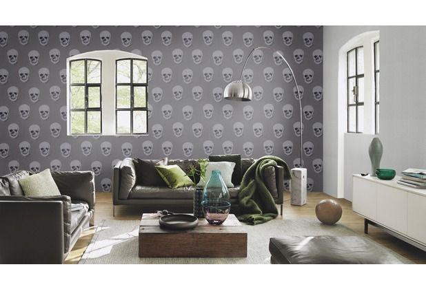 Pin by Hertie on Tapeten \/ Tapetenideen in GRAU Pinterest - schöne tapeten für wohnzimmer