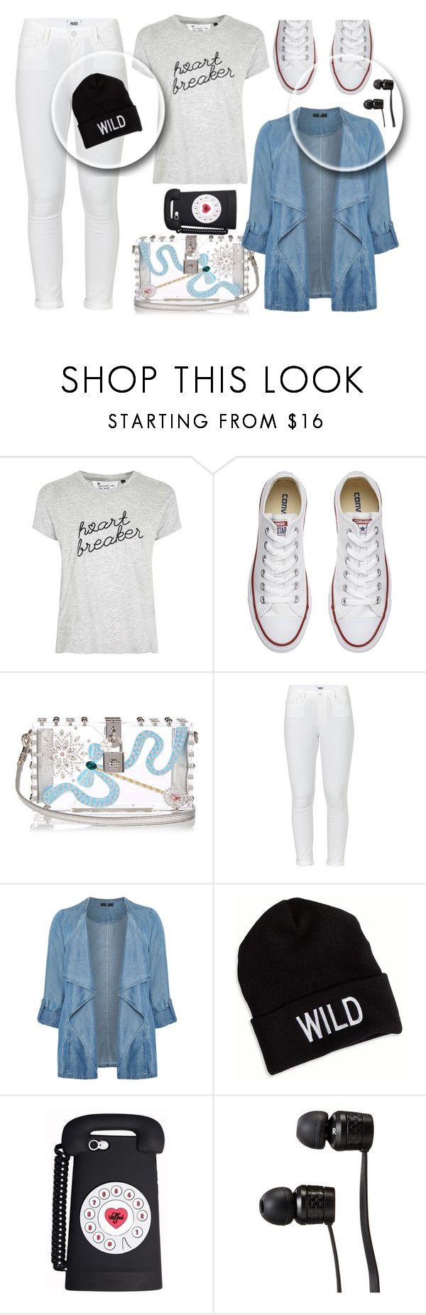 """fall start.. bak sena"" by naomy-nona ❤ liked on Polyvore featuring Tee and Cake, Converse, Dolce&Gabbana, Paige Denim, Evans, American Eagle Outfitters, Vans and plus size clothing"