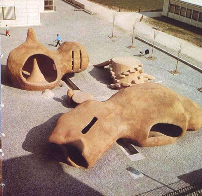 playscapes: Pierre Szekely's Midcentury Modern Playgrounds
