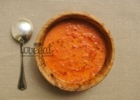 Суп из печеных томатов