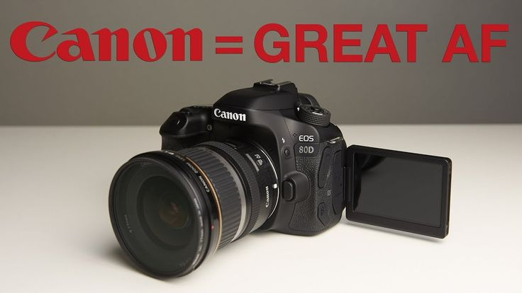 Unboxing A CANON 80D - It's All About The AUTO FOCUS!