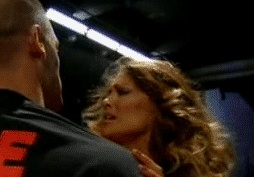 Yes, that was tongue. I legit hate John Cena now.    #wrestling #wwe #raw #gif