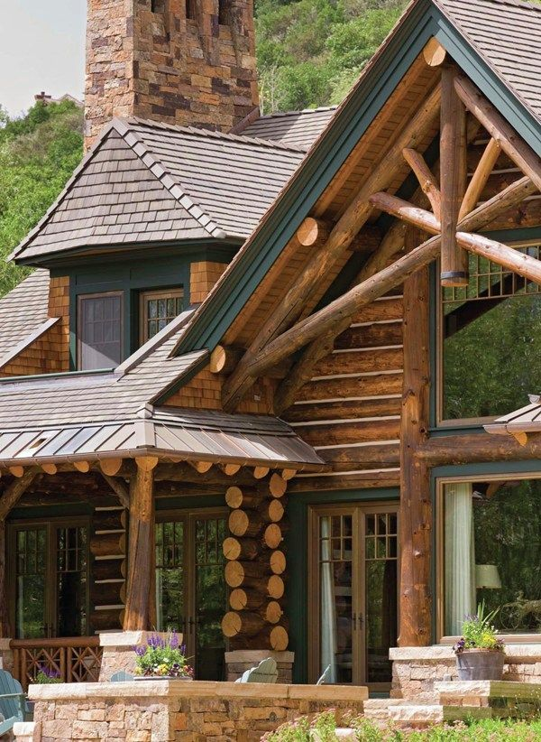 475 Best Images About Rustic Homes On Pinterest Timber