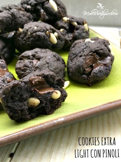cookies extra light con pinoli
