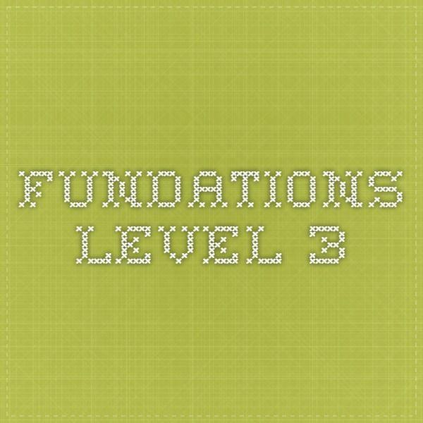 Fundations Level 3