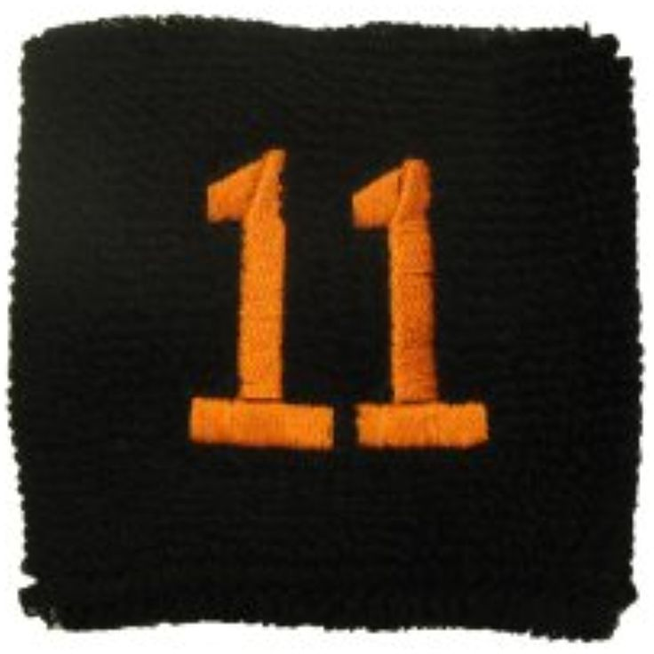 Couver Black Like Giants Sports/Athletic with Number embroidery Sweat Wristband -- You can get additional details at the image link. (This is an affiliate link) #Accessories