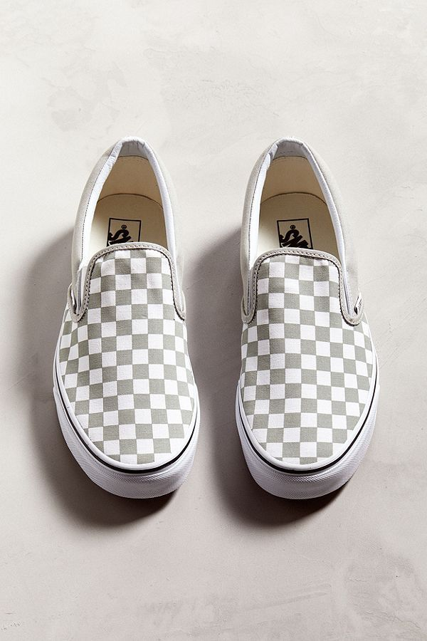 0f50f9a5539186 Slide View  5  Vans Classic Colorful Checkerboard Slip-On Sneaker