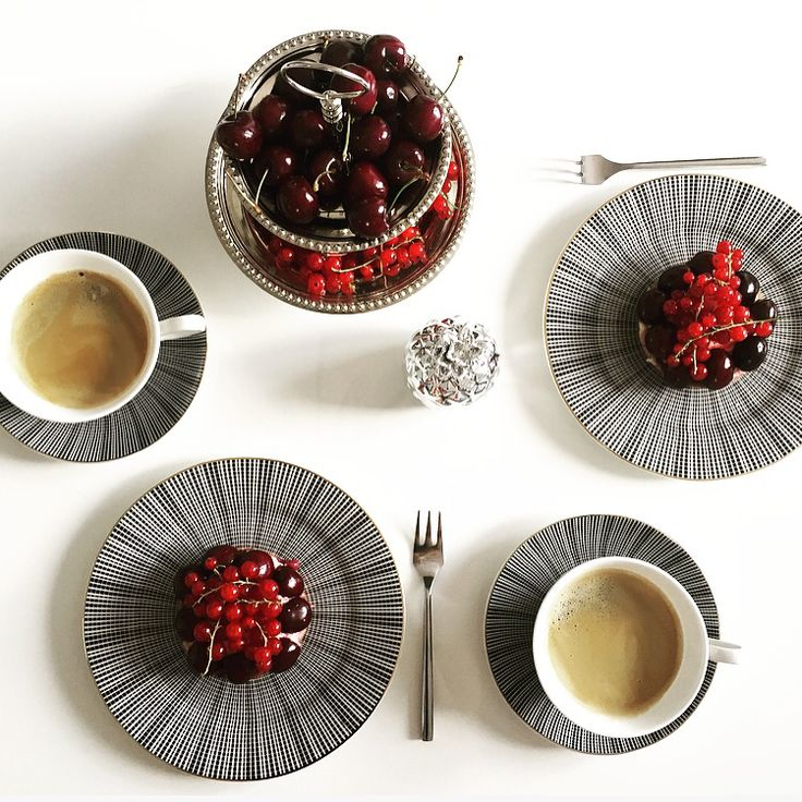 Coffee and Cherries time