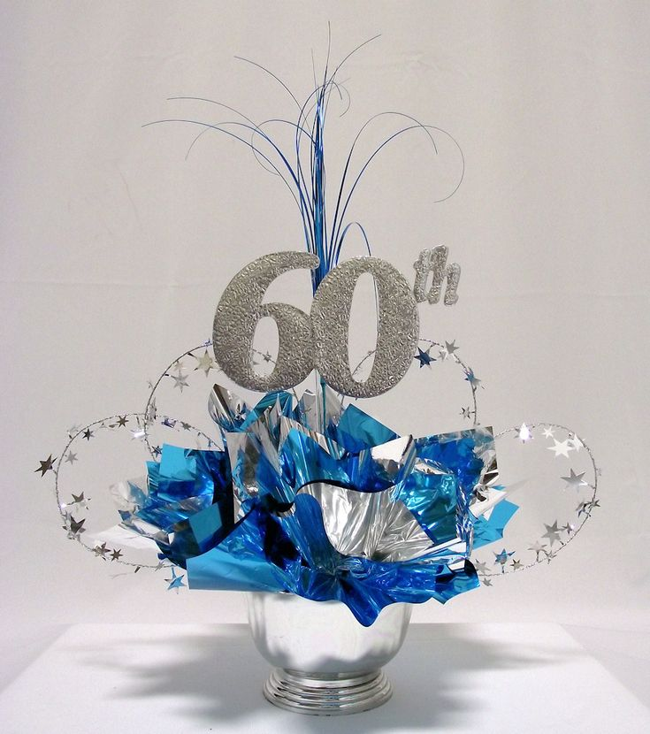 60th Milestone Centerpiece                                                                                                                                                      More