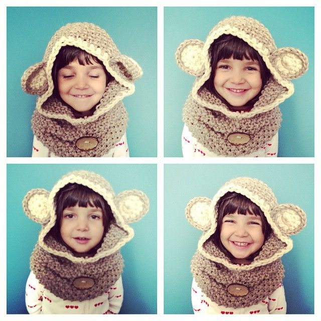 knit and crochet baby bear cap <3 vane.handicraft's photo on Instagram