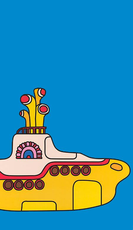 Movie poster for Yellow Submarine (1968). (peter max I assume??)