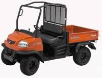 Kubota's heavy-duty, high performance RTV Series utility vehicles have given their customers the power and durability to tackle the toughest tasks on a variety of terrain. From the daily dependability of their products, to the comfort, protection and quiet of their cab, there's an RTV to meet everyone's needs. With our easy to remove windshield, mirrors, and other items, Extreme Metal Products can help you add comfort and safety to your Kubota RTV.