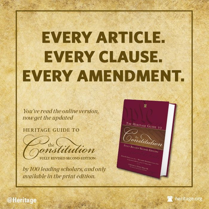 THE HERITAGE GUIDE TO THE CONSTITUTION subject PRESIDENTIAL ELIGIBILITY  (SIDE NOTE: THEY ALWAYS hide Amendment 13 which actually says ALL AMERICAN CITIZENS are subject to ALL LAWS that are passed! CONGRESS doesn't have any exemptions, that's why it's HIDDEN )