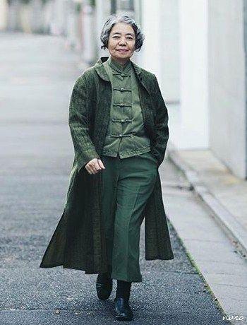 「樹木希林 ファッション」の画像検索結果