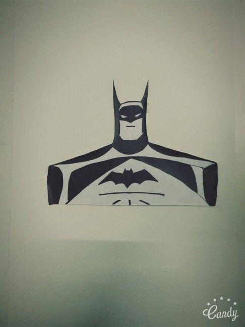 Justice League: The Animated Series Batman Stencil