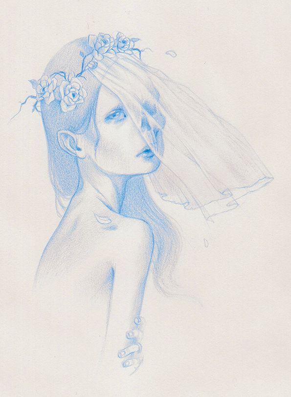 Corpse Bride - PAOLO PEDRONI ART