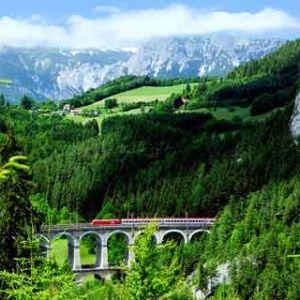 World's Most Scenic Train Rides | via Travel + Leisure
